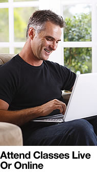 Man Using Laptop Computer