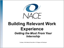 Building Relevant Work Experience Workshop
