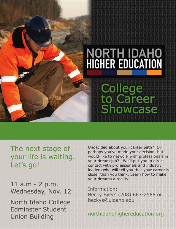 College to Career Showcase Poster