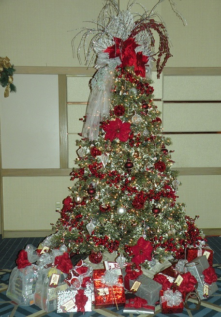 NIC's entry at the 2012 Festival of Trees