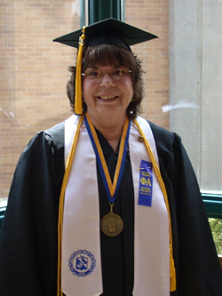 Photo of Janice Robinson, 2007 graduate of LCSC