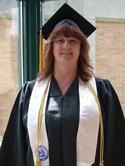 Photo of Janiece Skranak, 2007 graduate of LCSC