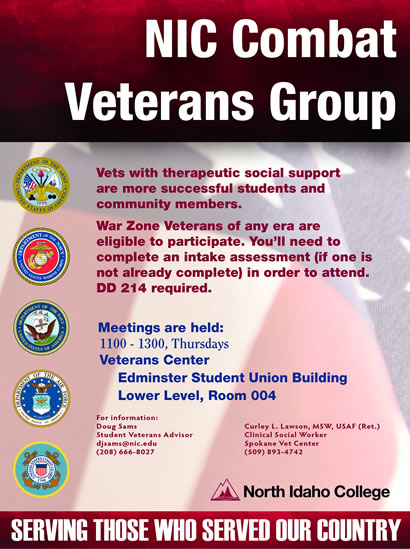 Combat Veterans Group Flyer