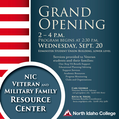 Grand Opening Wednesday, Sept. 20