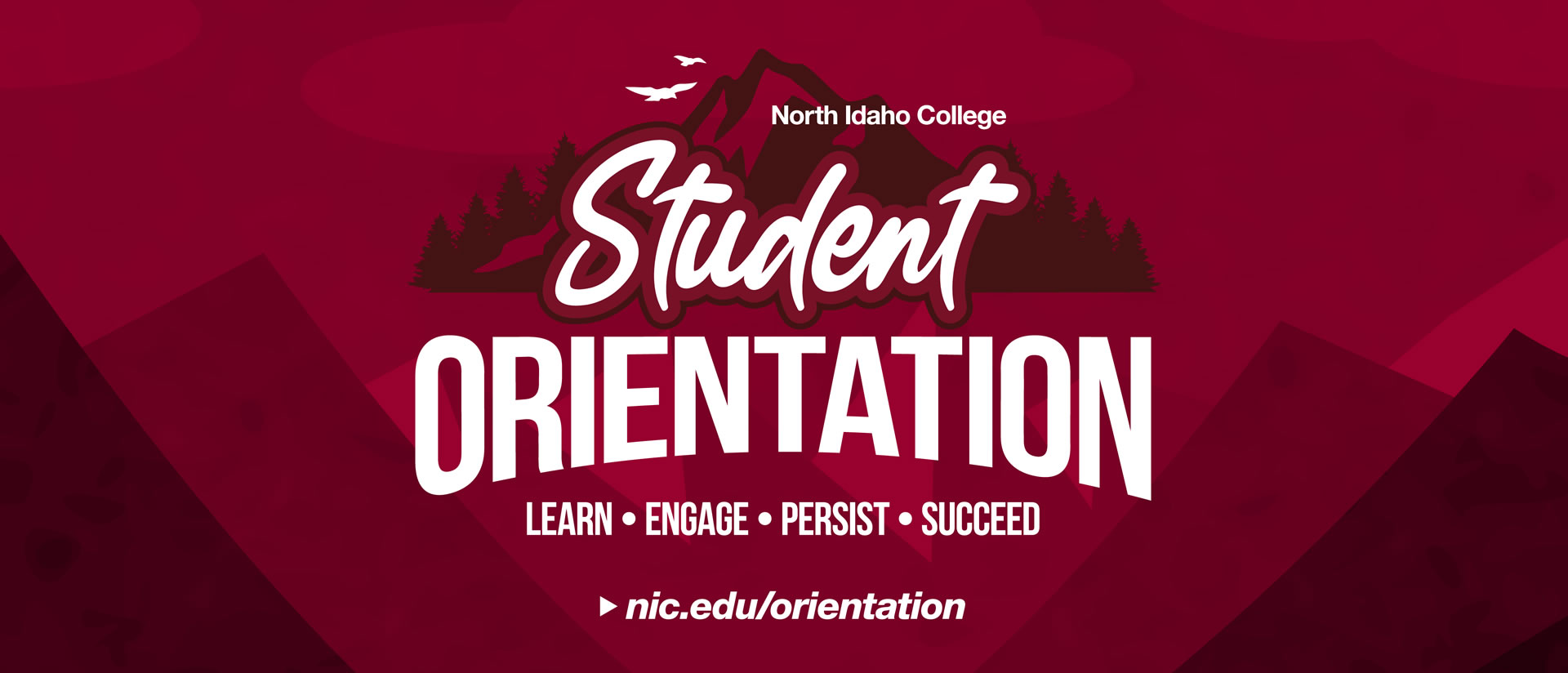 Student Orientation - learn, engage, persist, succeed