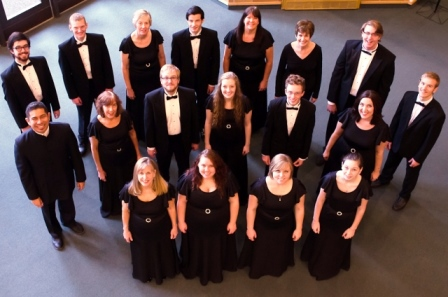 Pictured are members of the NIC Chamber Singers (photo by Katie Eppenstein)