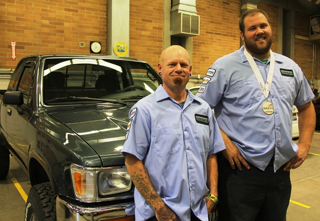 Collision Repair students place nationally