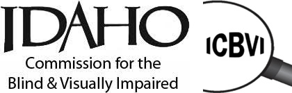 Idaho Commission for the Blind and Visually Impaired Logo