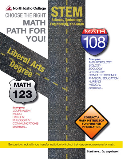 Math Path Road