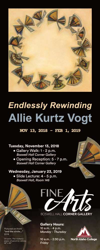 Endlessly Rewinding Gallery Opening