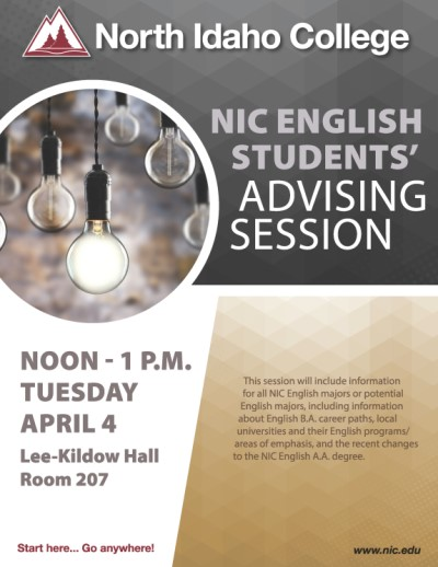 NIC English Students' Advising Session