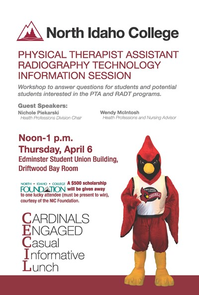 Cecil Lunch - Physical Therapist Assistant Radiography Tech Info Session