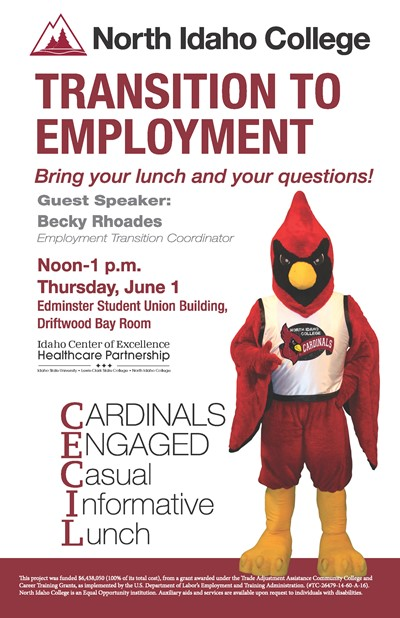 Cecil Lunch - Transition to Employment