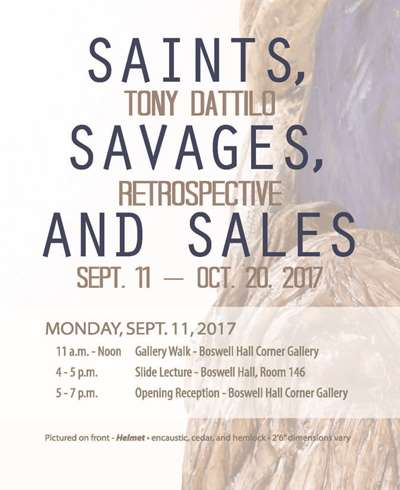 Corner Art Gallery - Saints, Savages and Sales Opening