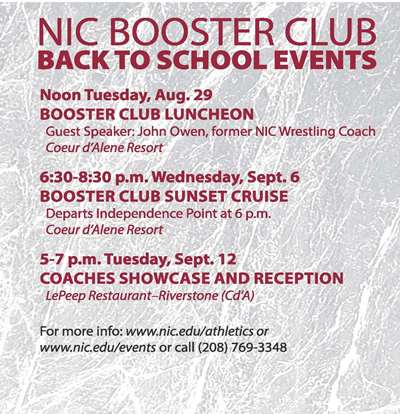 Booster Club Save the date