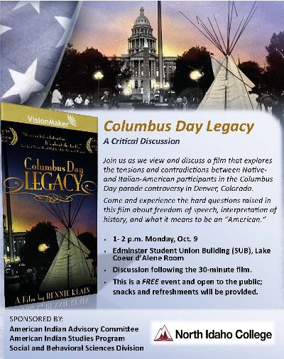 Columbus Day Legacy: A Critical Discussion