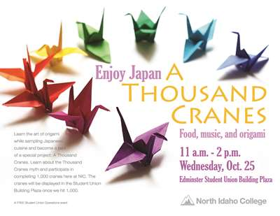 Enjoy Japan - A Thousand Cranes