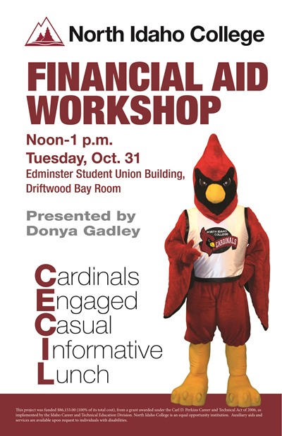 Cecil Lunch - Financial Aid Workshop