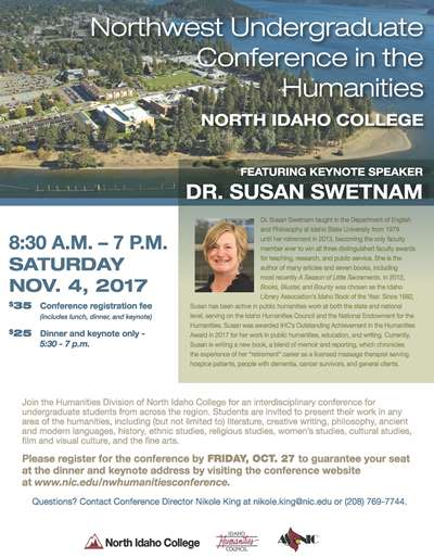 Northwest Undergraduate Coference in the Humanities