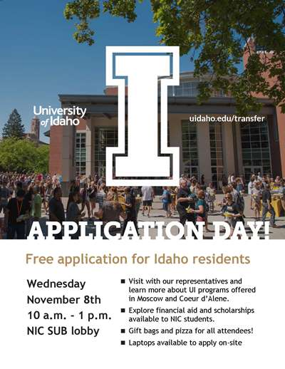 University of Idaho Application Day