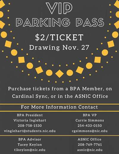 Win a VIP Parking Pass