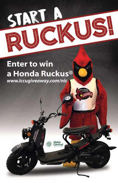 Start a Ruckus - Enter to win a Honda Ruckus