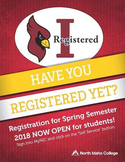 Have you Registered Yet?