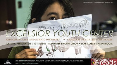 Excelsior Youth Center - Cardianl Reads Lecture Series