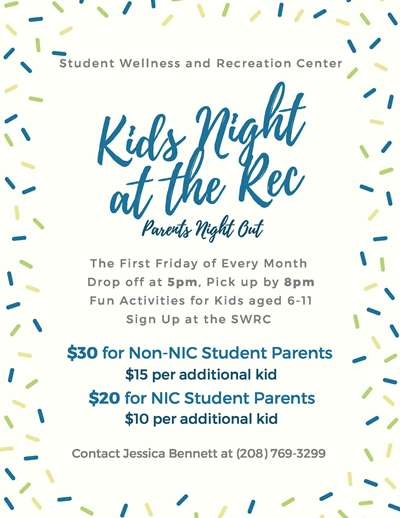 Kids Night at the Rec