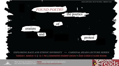 Cardinal Read Lecture Series Poetry