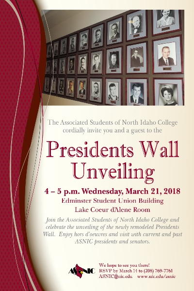 Presidents Wall Unveiling