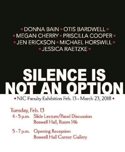 Silence is not an Option Gallery Opening