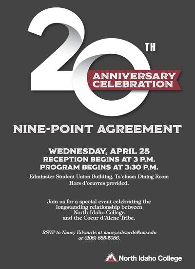 20th Anniversary Celebration of the Nine-point agreement