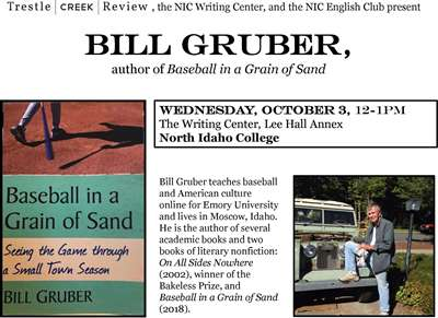 Bill Gruber, author of Baseball in a Grain of Sand