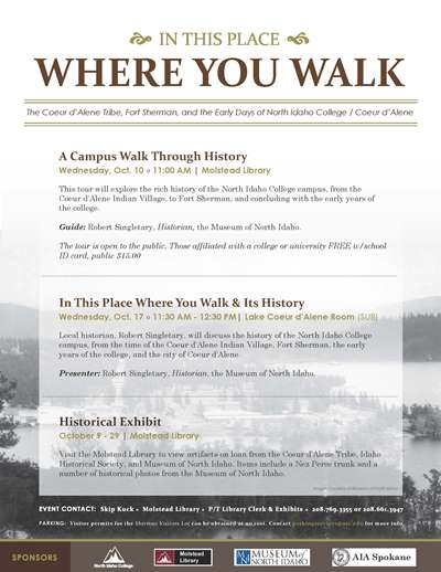 Where you Walk - Historical Exhibit