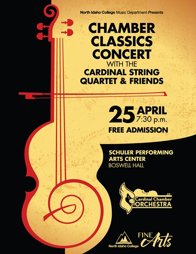 Chamber Classics Concert with the Cardinal String Quartet & Friends