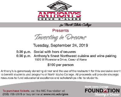 Anthony's Annual Benefit Dinner