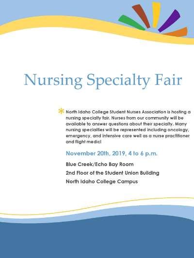 Nursing Specialty Fair