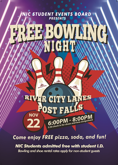 Free Bowling Night