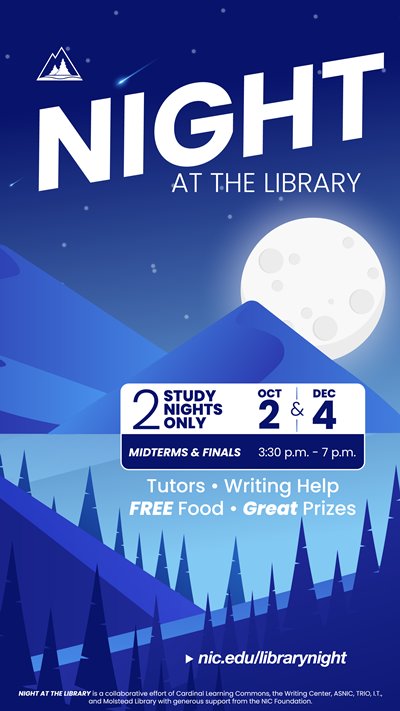 Night at the Library Finals