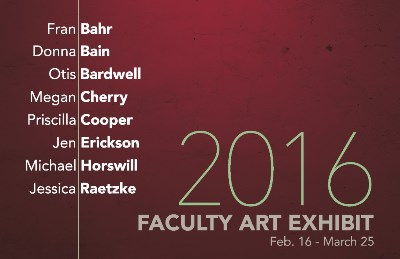 2016 Faculty Art Exhibit