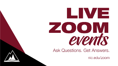 Zoom Events page