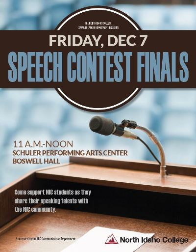 Speech Contest Finals